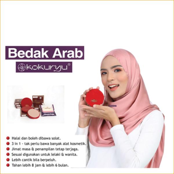 Buy Kokuryu - Bedak Arab 50g. BELI YANG ORI Singapore
