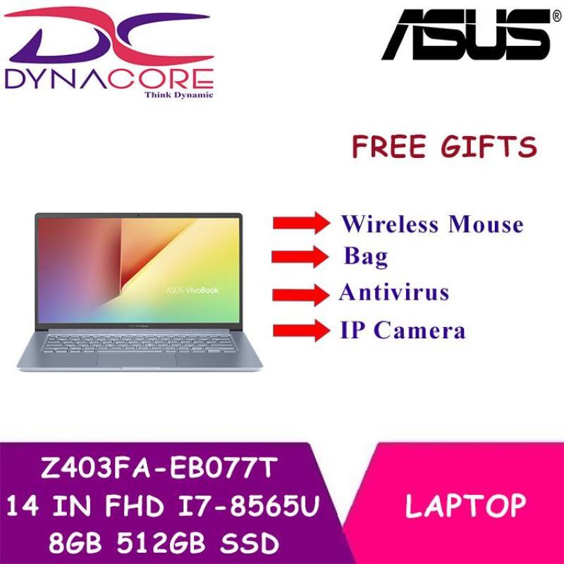 ASUS Z403FA-EB077T 14 IN FHD INTEL CORE I7-8565U 8GB 512GB SSD Intel UHD 620 WIN 10