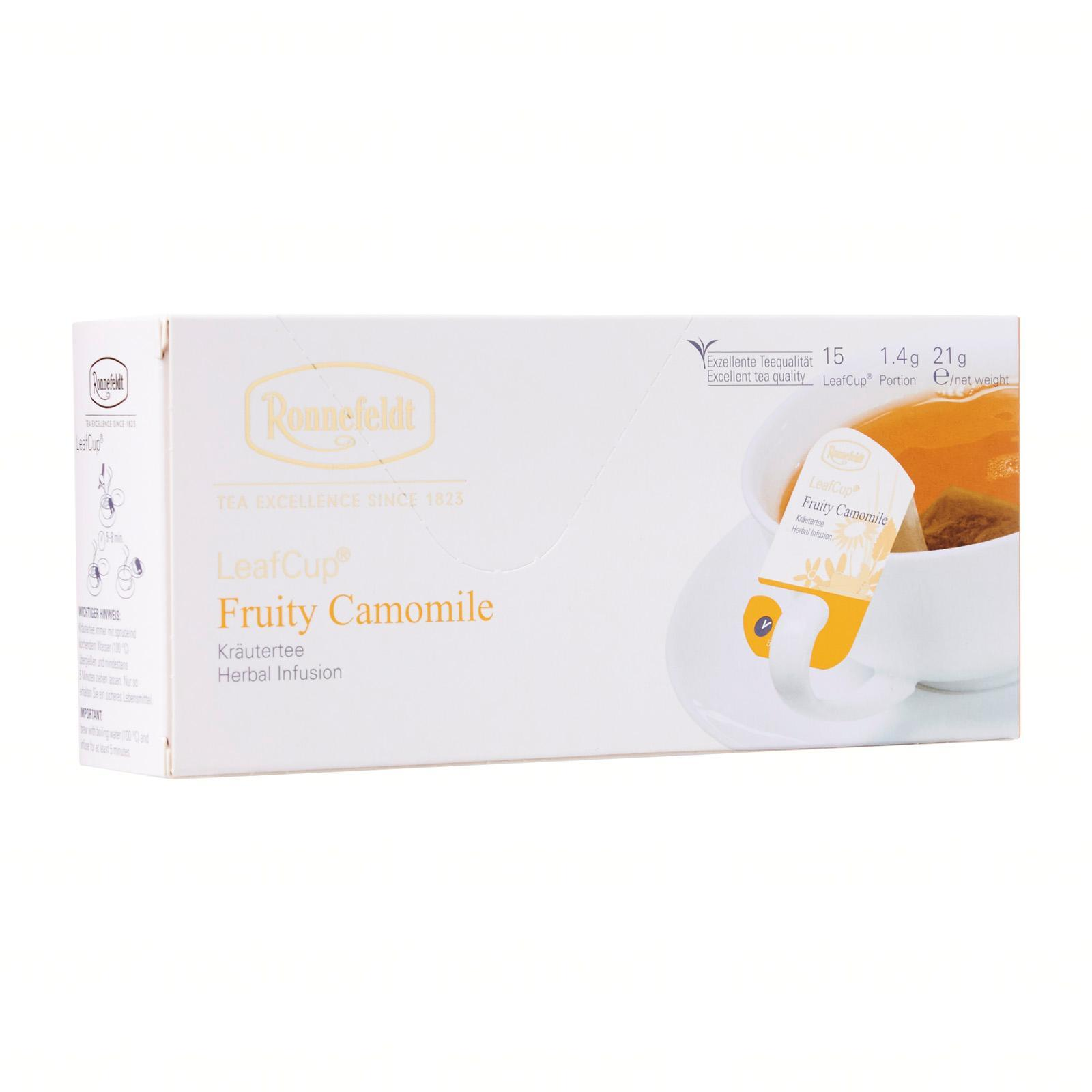 Ronnefeldt LeafCup 15x Fruity Camomille Tea Bags