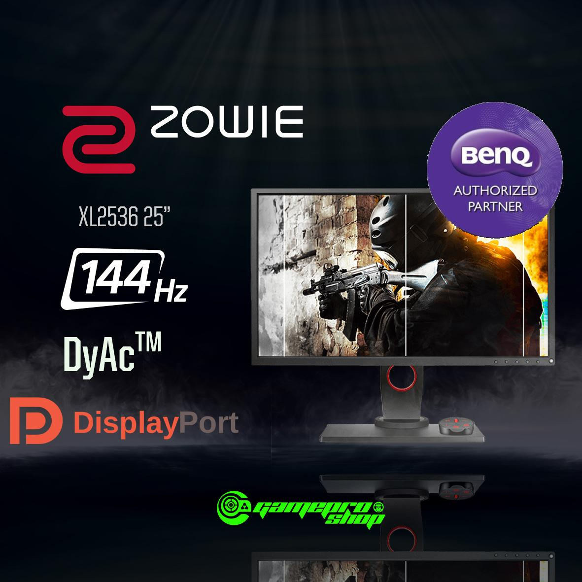 BenQ ZOWIE XL2536 24.5 inch 24.5 144Hz 1ms Exclusive DyAc Technology Esports gaming Monitor (Ready for ...