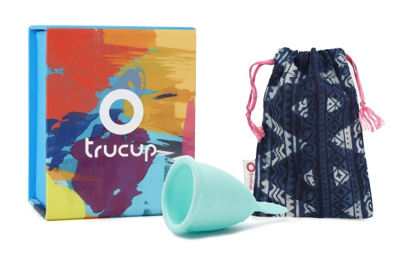 Buy TruCup Menstrual Cup Ocean Blue Singapore