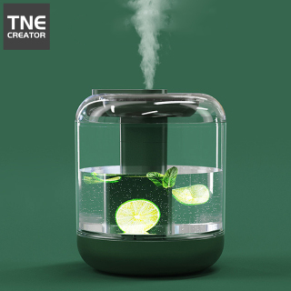 TNE 1L Large Capacity USB Air Purifier Diffuser Ultrasonic Aromatherapy Mist Essential Aromas Oil Purifier Warm Night Light Built-in 2000mAh Battery thumbnail