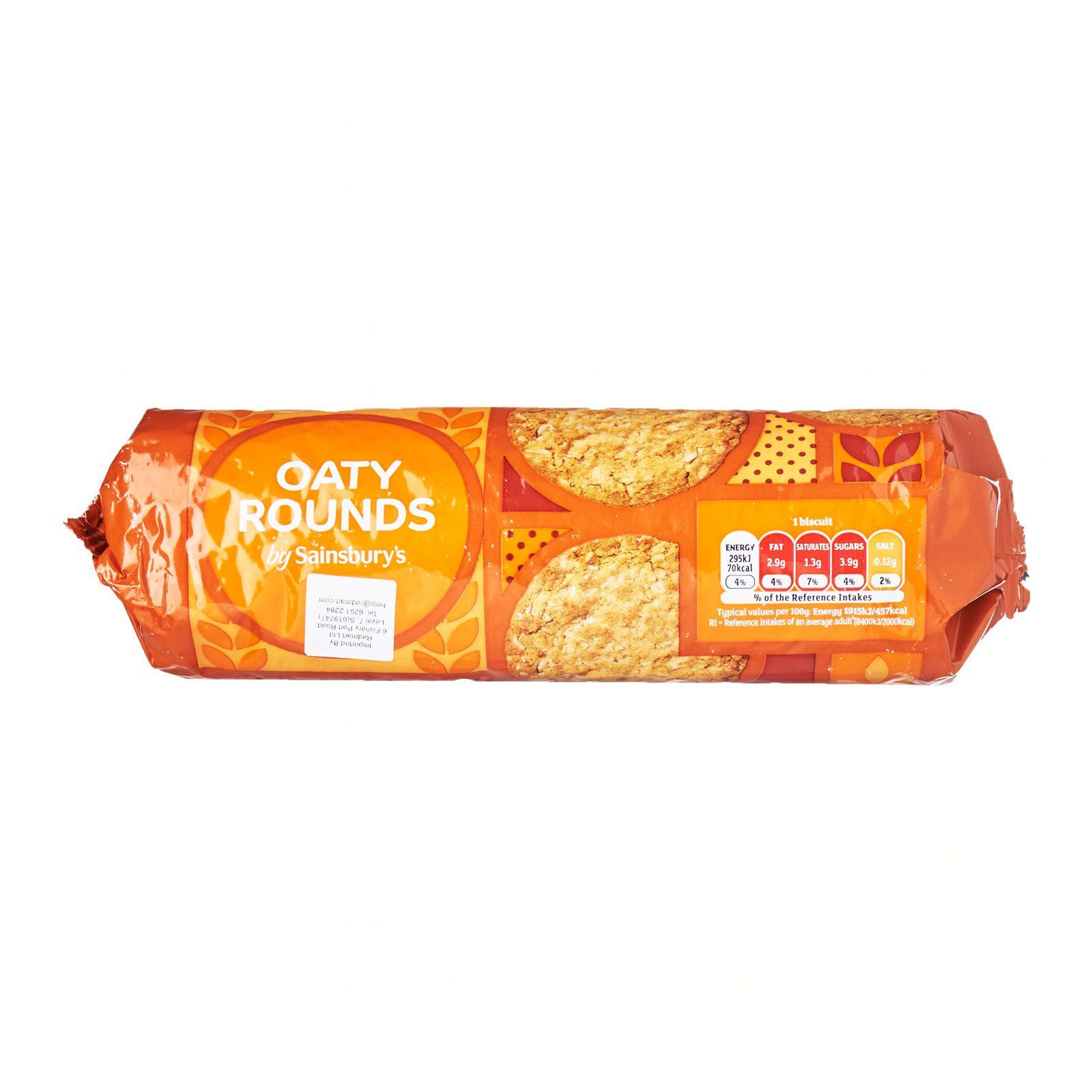 Sainsbury's Oaty Biscuits