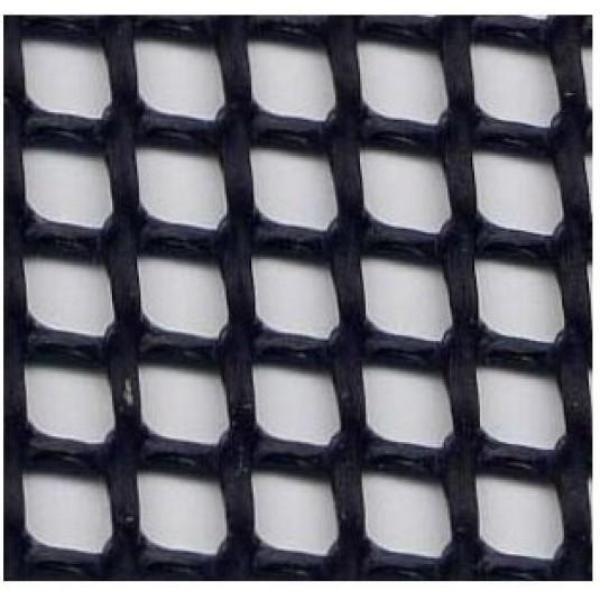 Bloom Multi-Purpose Wire Mesh Opening Rectangular 6mm 1m x 0.5m (Black)