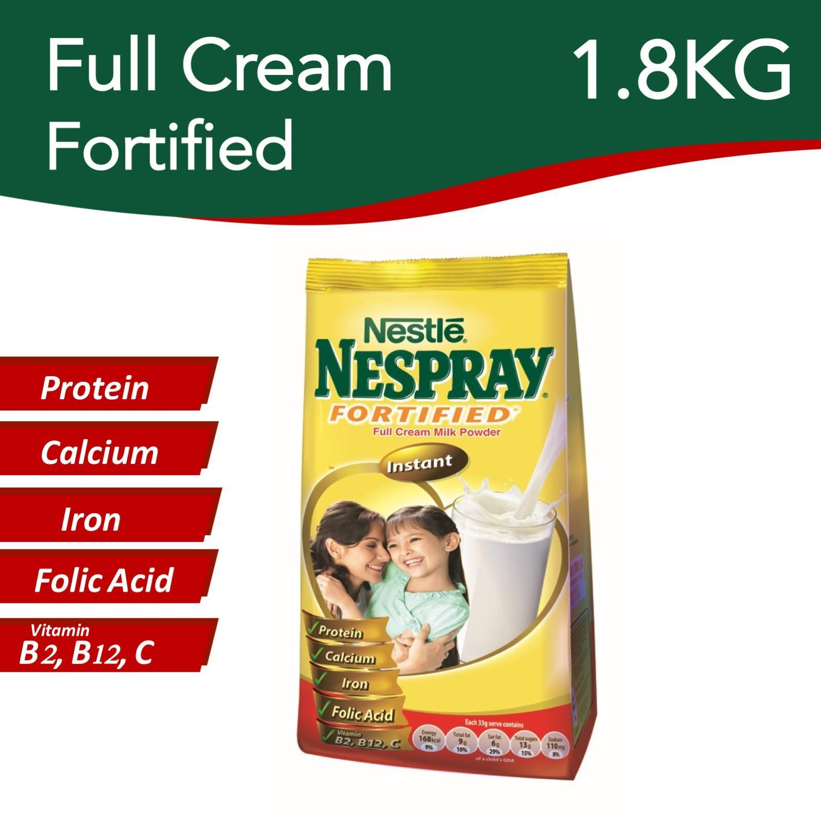 Nestle Nespray Instant Fortified Full Cream Milk Powder