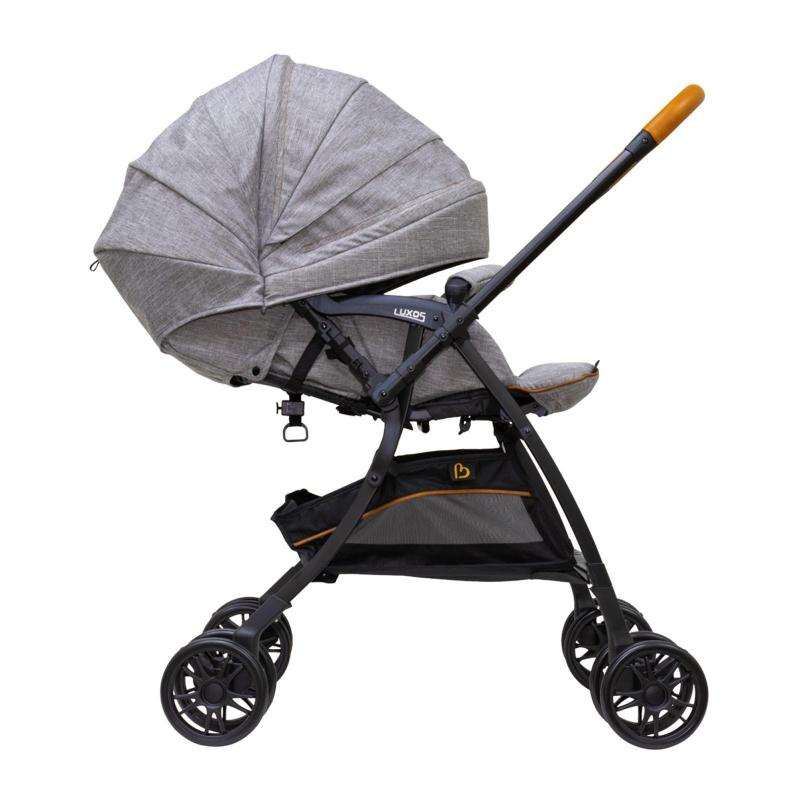 Bonbijou Luxos+ Stroller - Denim Grey Singapore