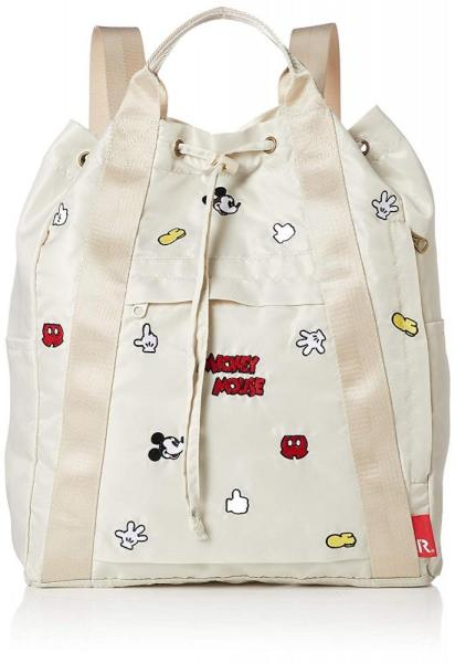 RooTote x Disney Mickey patches nylon drawstring backpack