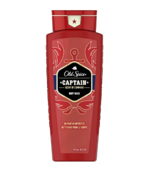 Buy Old Spice Captain Red Collection Scent Body Wash for Men, 16 Oz Singapore
