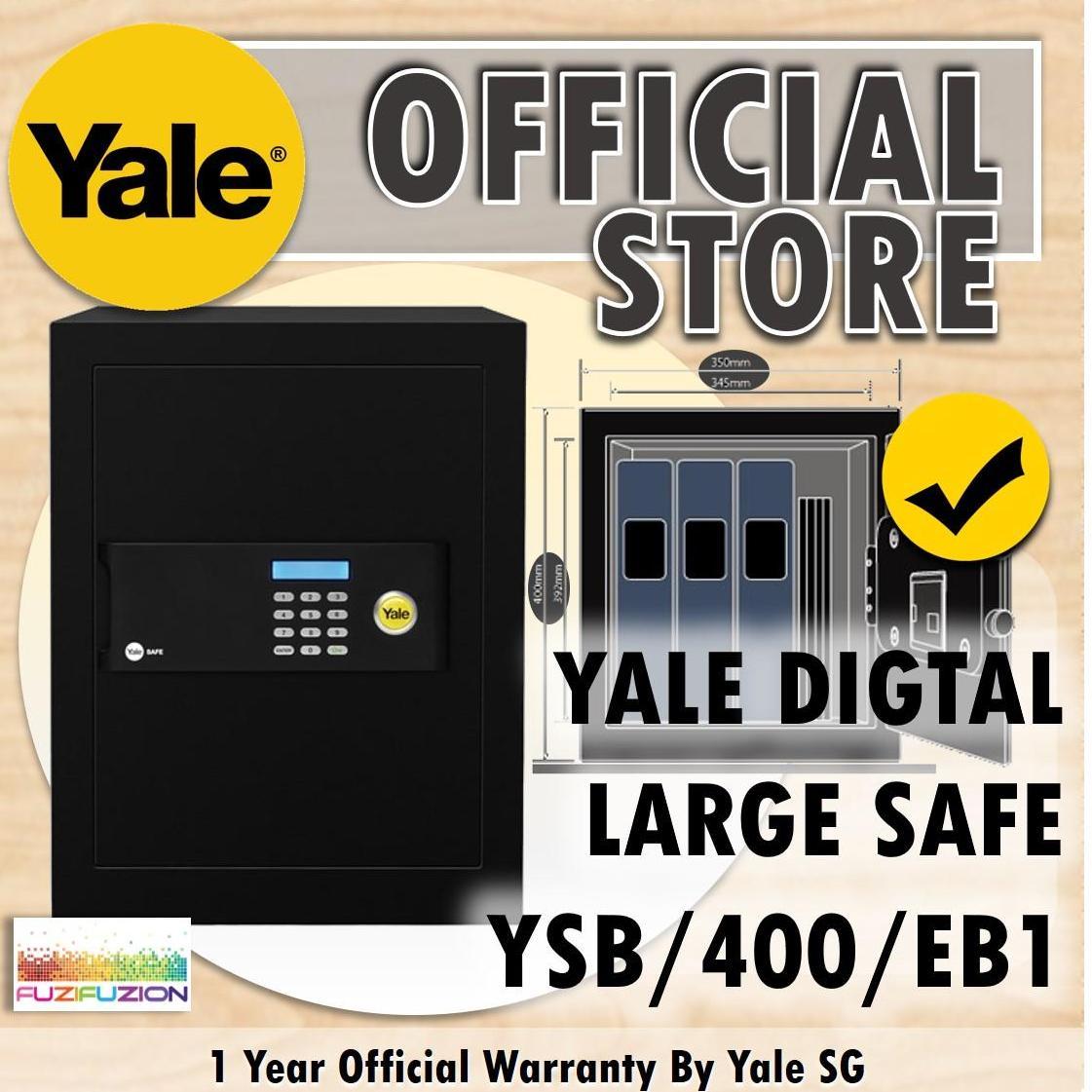 Yale YSB/400/EB1 Large Security Digital Safe Box