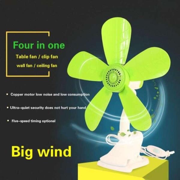 Electric fan bed desktop small bedroom clip fan mini clip type household fan-intl