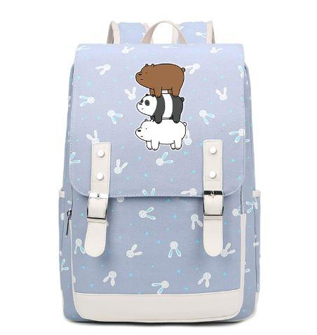 [LIMITED EDITION] We Bare Bears Cartoon Fashion Printing Backpack