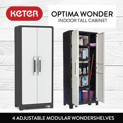 Keter Optima Wonder Indoor Tall Cabinet