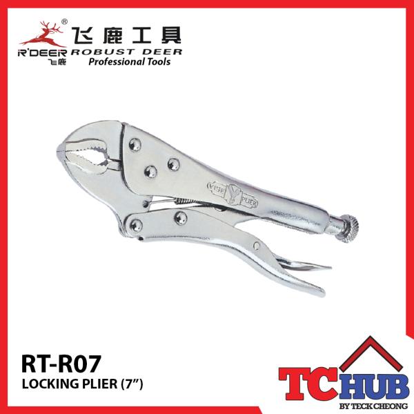 Robust Deer Locking Pliers 7 (175MM)