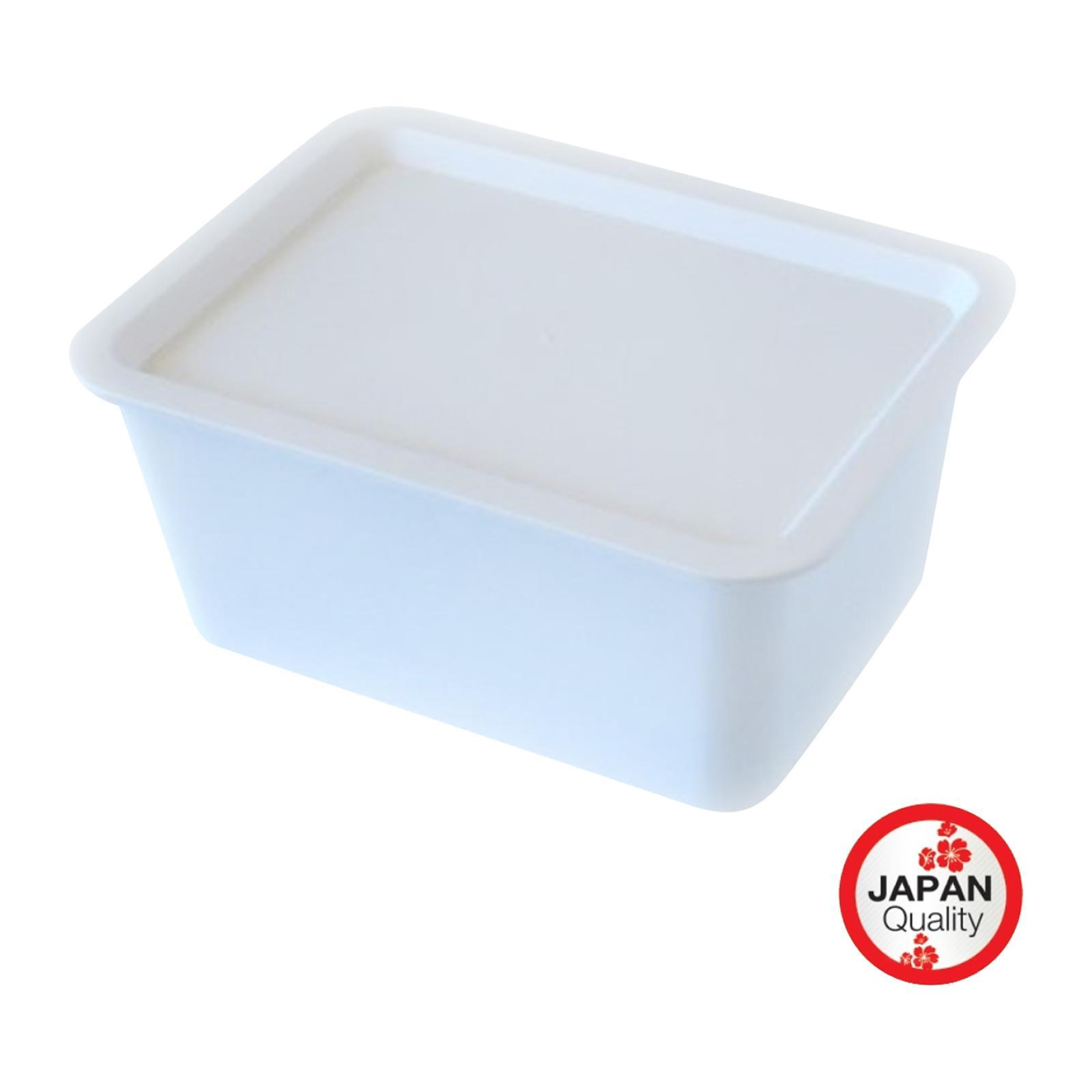 Nomi - Stationery Storage Box With Lid -White Color