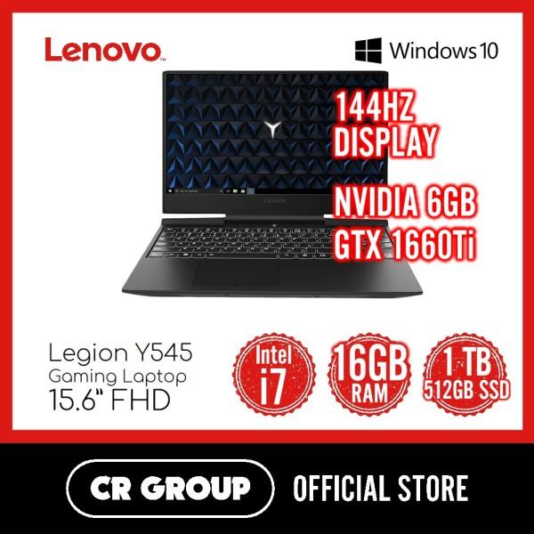 Same Day Delivery Option* Lenovo Legion Y545 15.6 FHD Gaming Laptop Intel® Core™ i7-9750H 16GB DDR4 1TB + 512GB SSD NVIDIA GeForce GTX 1660Ti