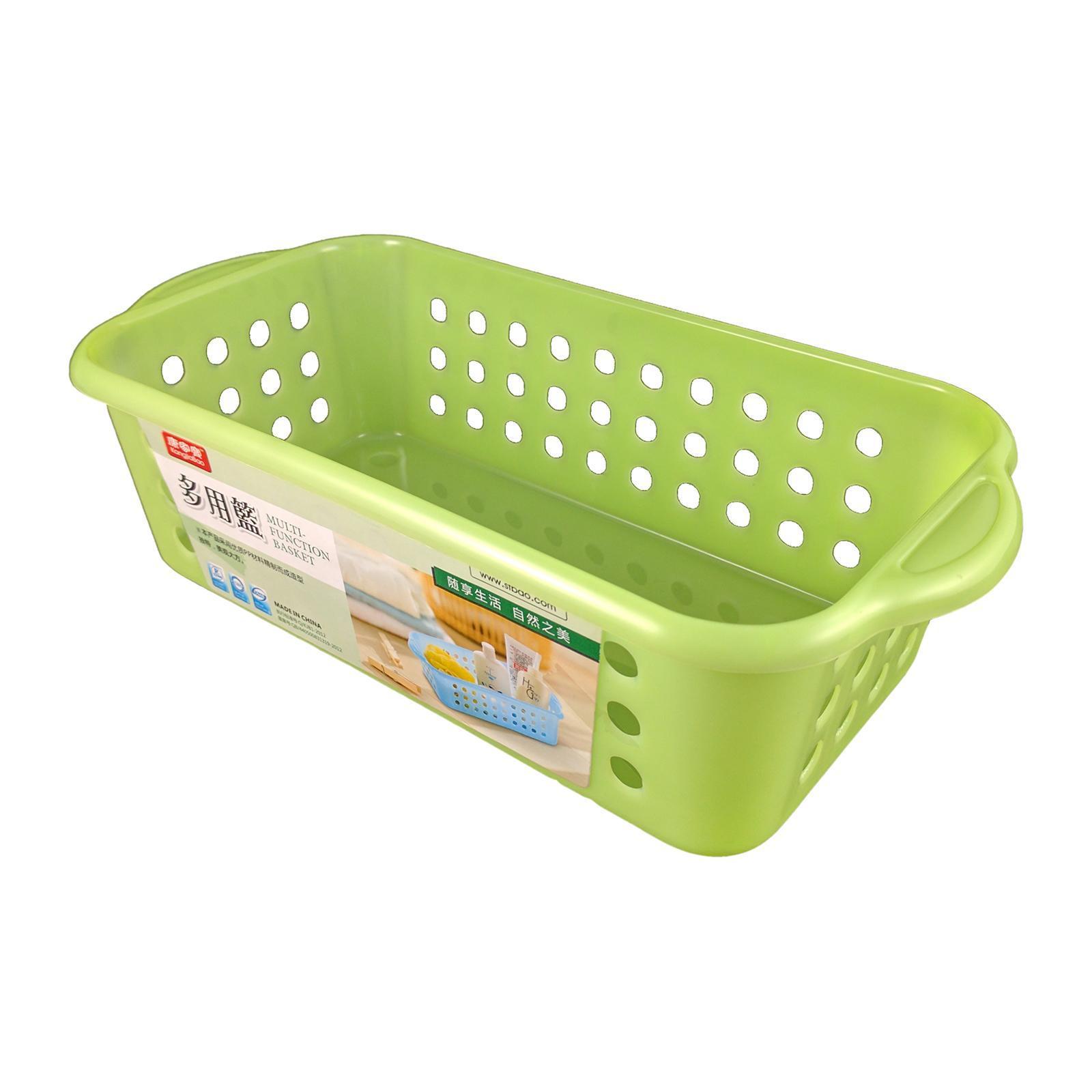 KangjiaBao Plastic Organiser Tray (2 per Pack) - Green