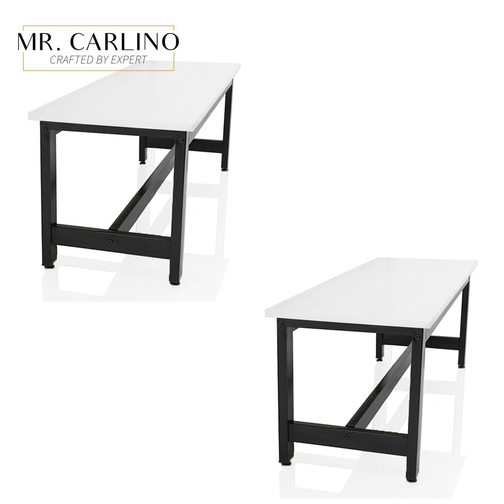 [SET OF 2] VICKERS Contemporary Dining Bench