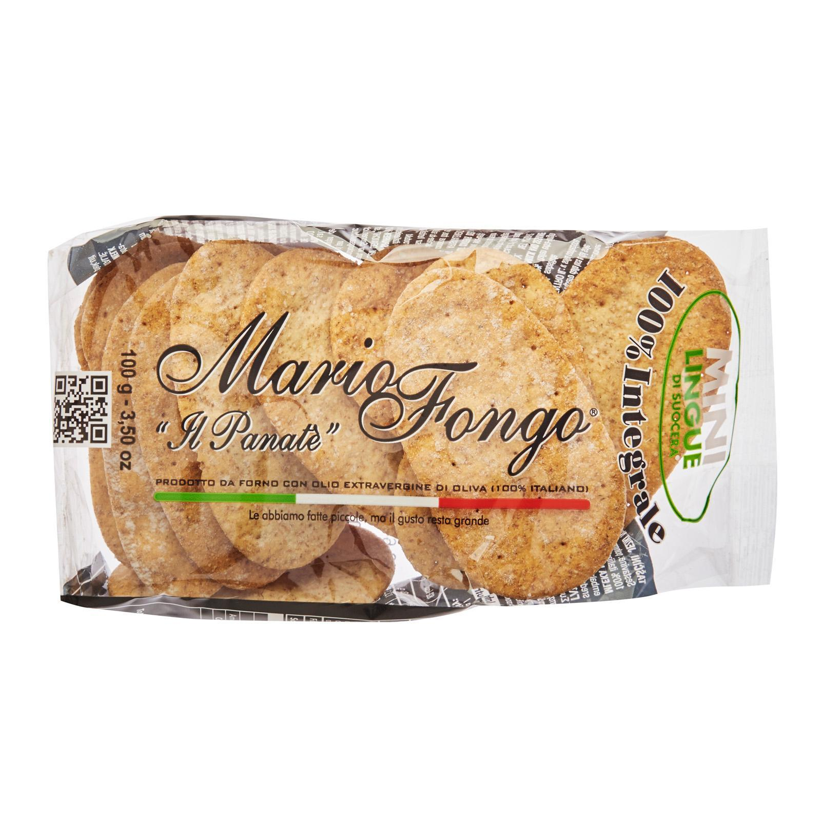 Fongo Mother-In-Laws Tongue Mini Whole Wheat By Redmart.