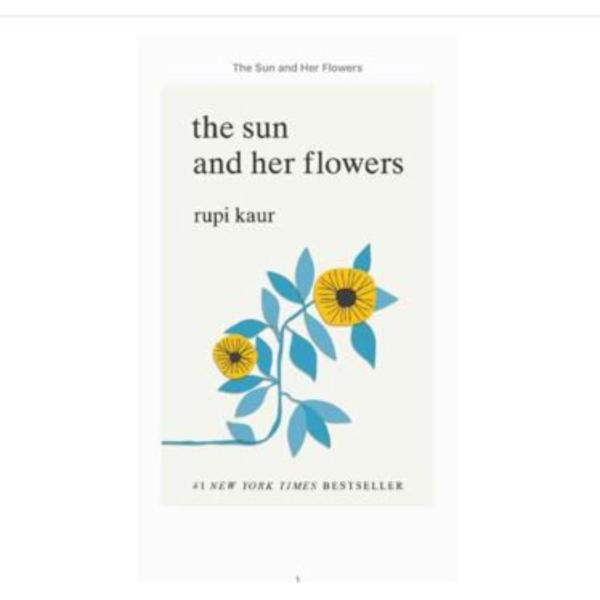 The Sun and Her Flowers Book by Rupi Kaur ebook