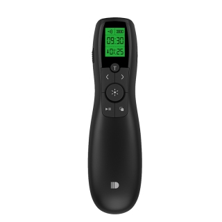 doosl Wireless Presenter Rechargeable Green Poniter with LED Display 2.4GHz Powerpoint Presentation Remote Control for Classroom Teachers Pointers thumbnail