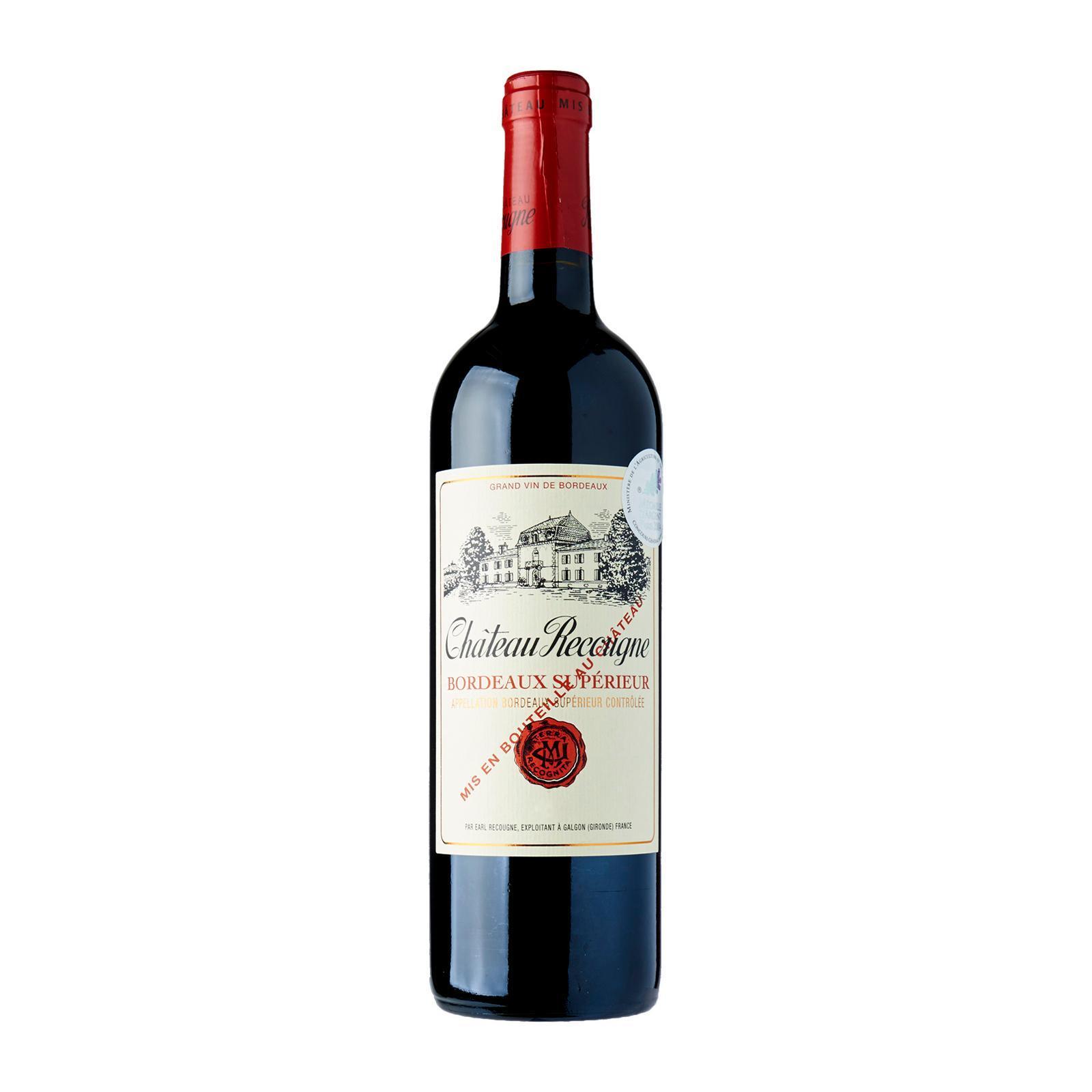 Samazeuilh Chateau Recougne Bordeaux Superieur Rouge