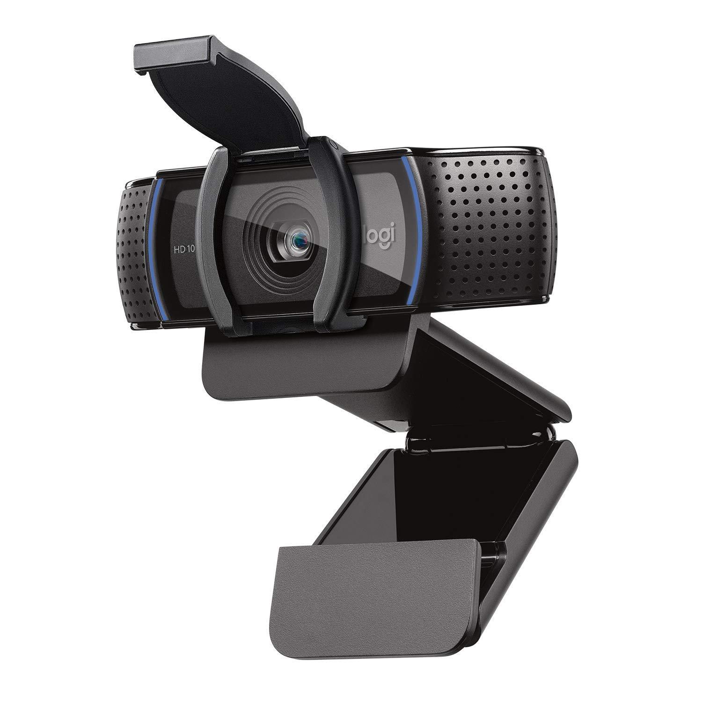 Logitech C920S Pro HD Webcam with Privacy Shutter - Widescreen Video Calling and Recording, 1080p Camera, Desktop or Laptop Webcam (Upgraded Model of Logitech HD Pro Webcam C920)
