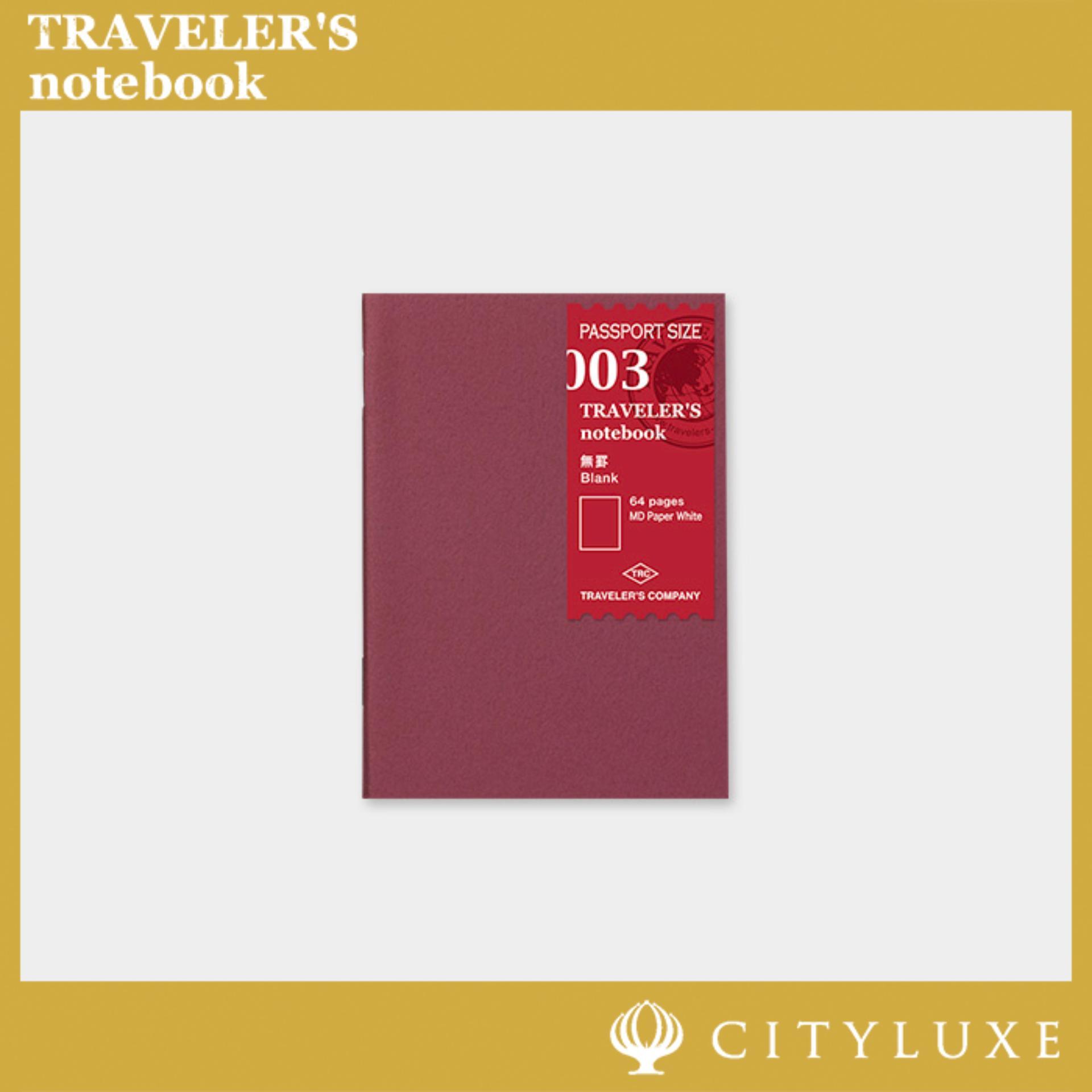 Midori Traveler&39;s Notebook Refill (passport Size) 001/002/003 Lined/grid/blank.