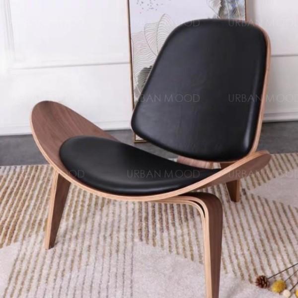 [PRE-ORDER] HAMILTON Designer Wood Clad Armchair
