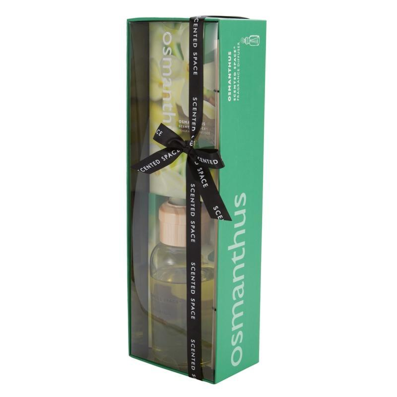 Scented Space 200ml Fragrance Diffuser Pomegranate / Osmanthus / Lavender Citrus / Green Tea / Fresh Linen / Aquamarine