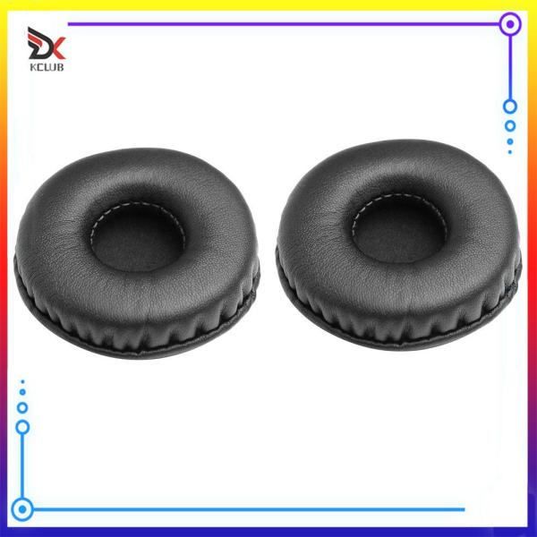 [KCLUB] 1 Pair Universal Leather Soft Foam Sponge Replacement Headphone Ear Pads Earpads Singapore