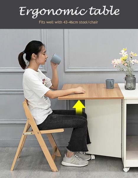 Foldable smart table