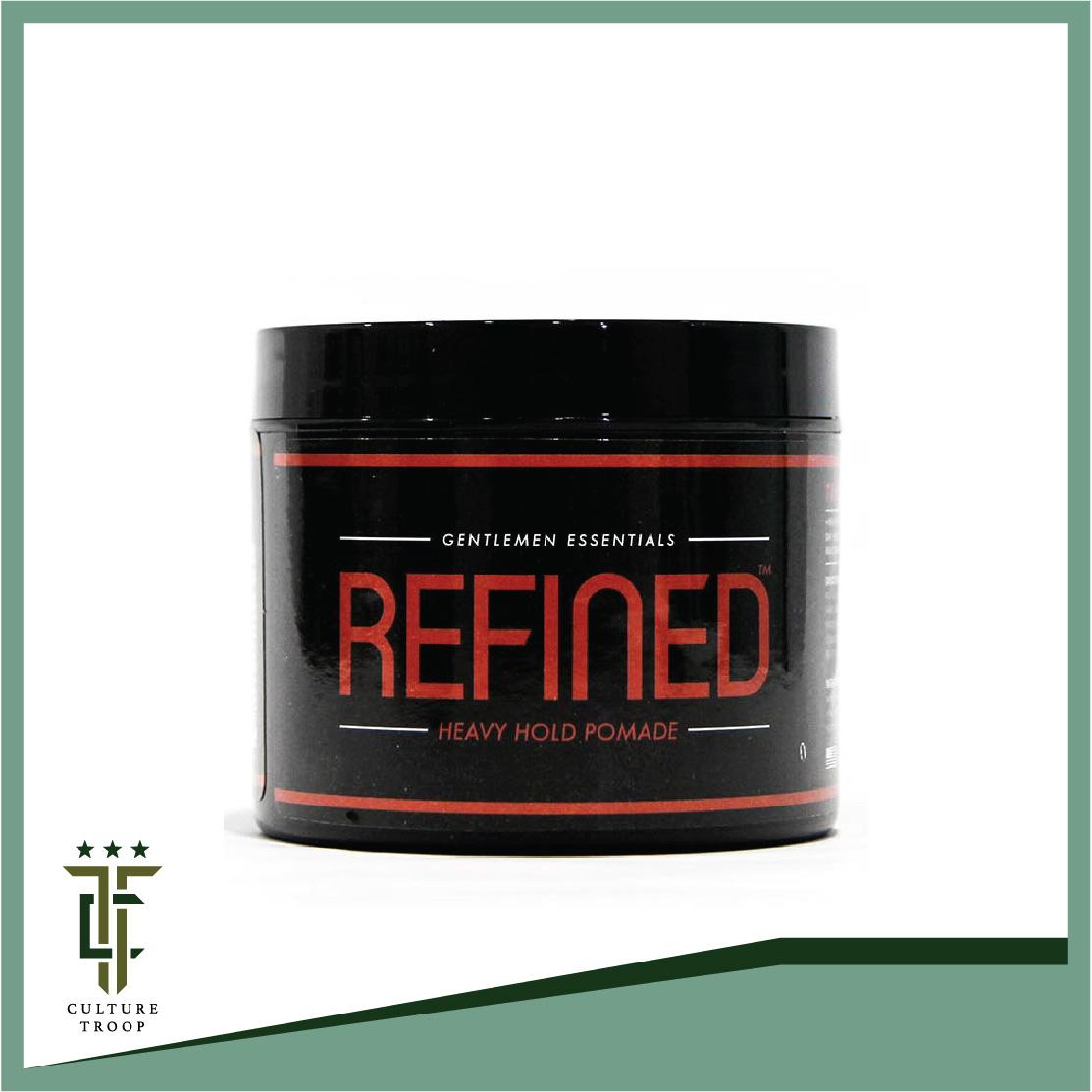 [Free Shipping] Refined Supply Heavy Hold Pomade | Men's Hair Grooming | Hair Gel