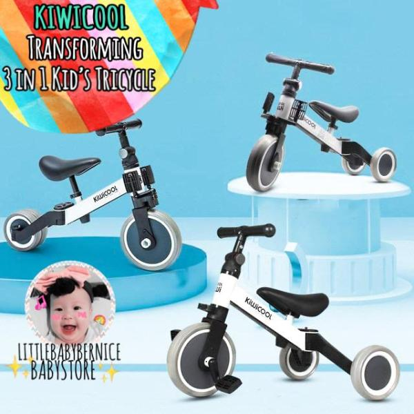[INSTOCK] 🚲 Kiwicool 3-in-1 Kids Tricycle Singapore