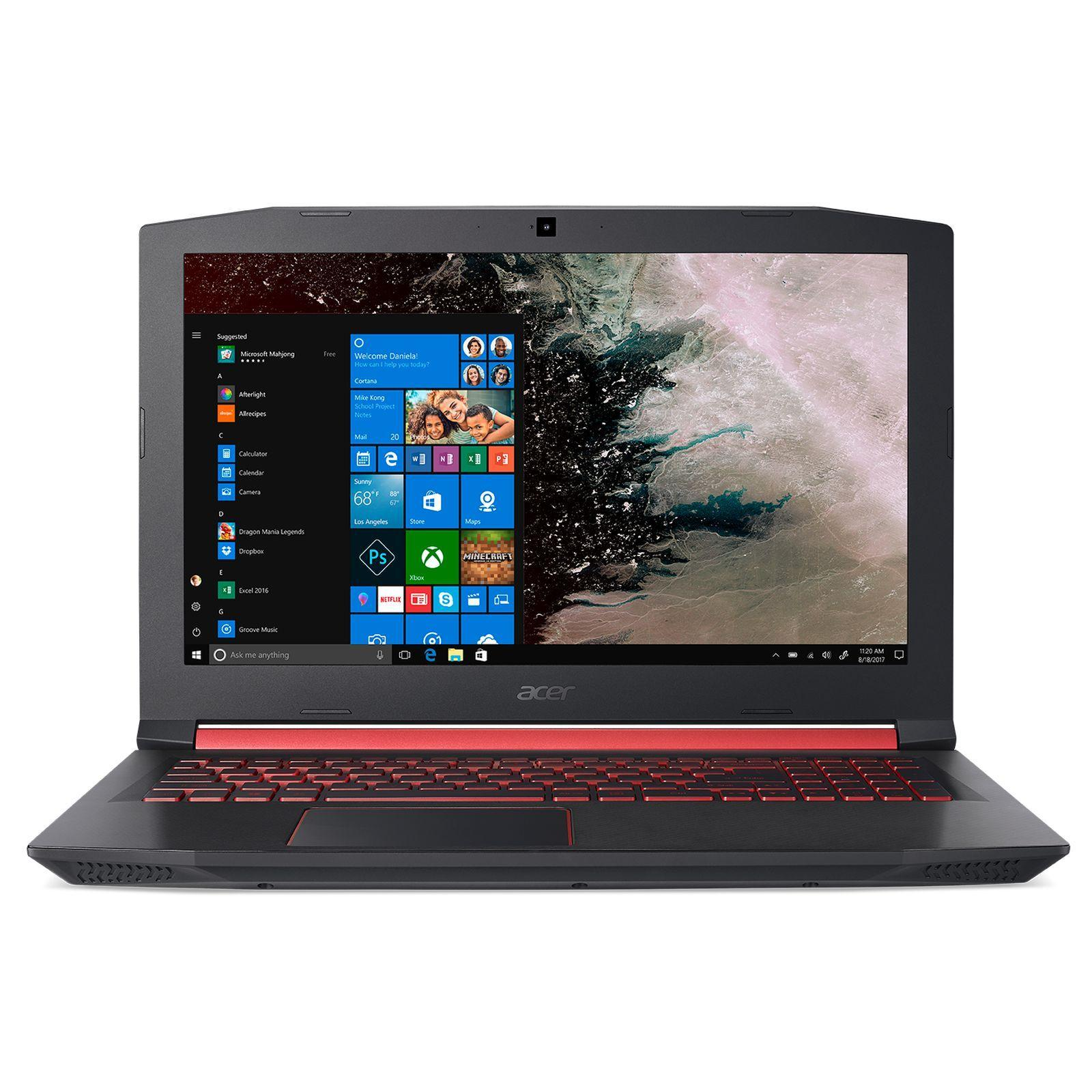 Acer Nitro 5 AN515-52-56RB Notebook Series with Win10 Pro (64-bit)