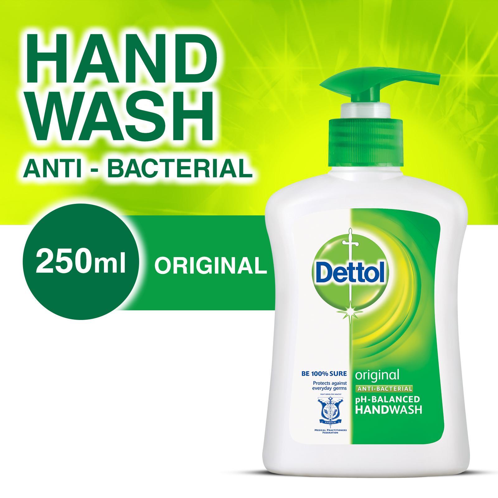 DETTOL ORIGINAL LIQUID HAND WASH 250ML