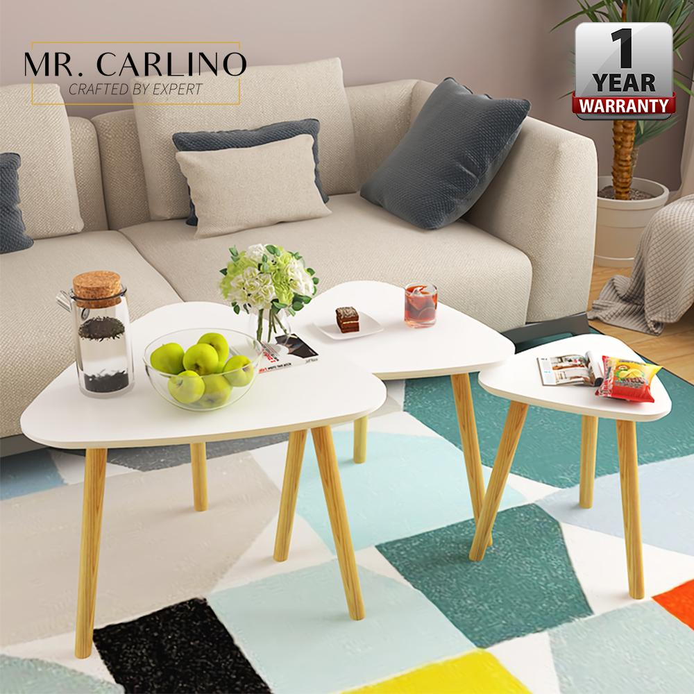[SET OF3] LOWRY Triangle Coffee Table