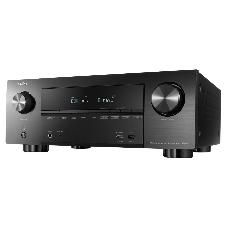 Denon Avr-X3500h 7.2ch 4k Av Receiver With Amazon Alexa Voice Control By Denon Official Store.