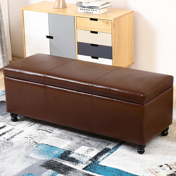 Household Storage Chair Solid Wood Footstool SHOEBOX Simple Adult Sofa Stool Mass Storage Stool Access Bench