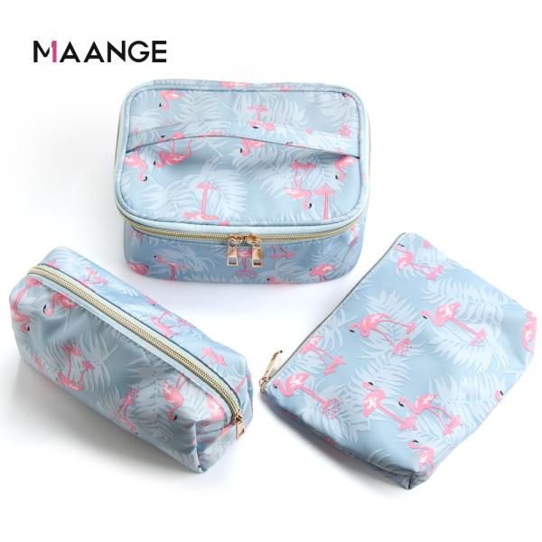 Buy MAANGE 3Pcs Make up bag waterproof portable travel simple cosmetic bag storage bag Singapore