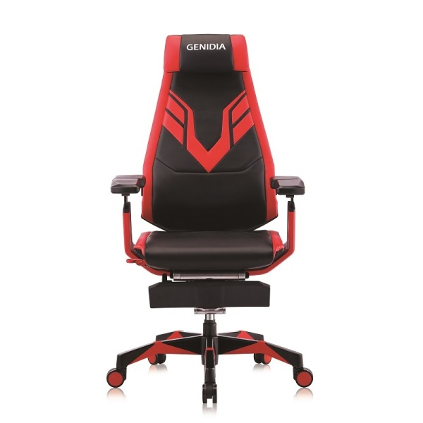 Pre-Order (5 Years Warranty) Genidia Mars Gaming Microfiber Leather Gaming Chair/ Office Chair Free Installation