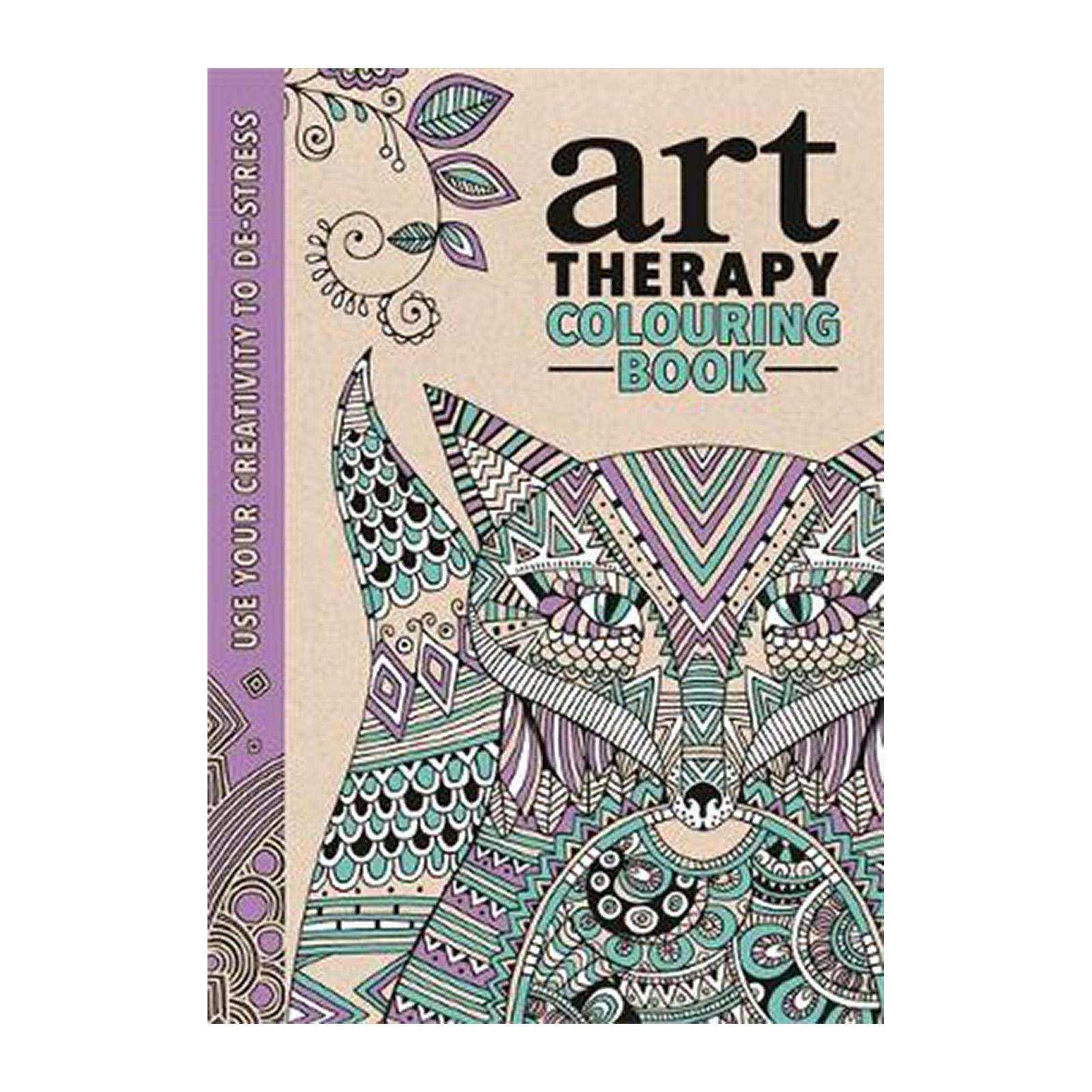 The Art Therapy Coloring Book (Hardcover)