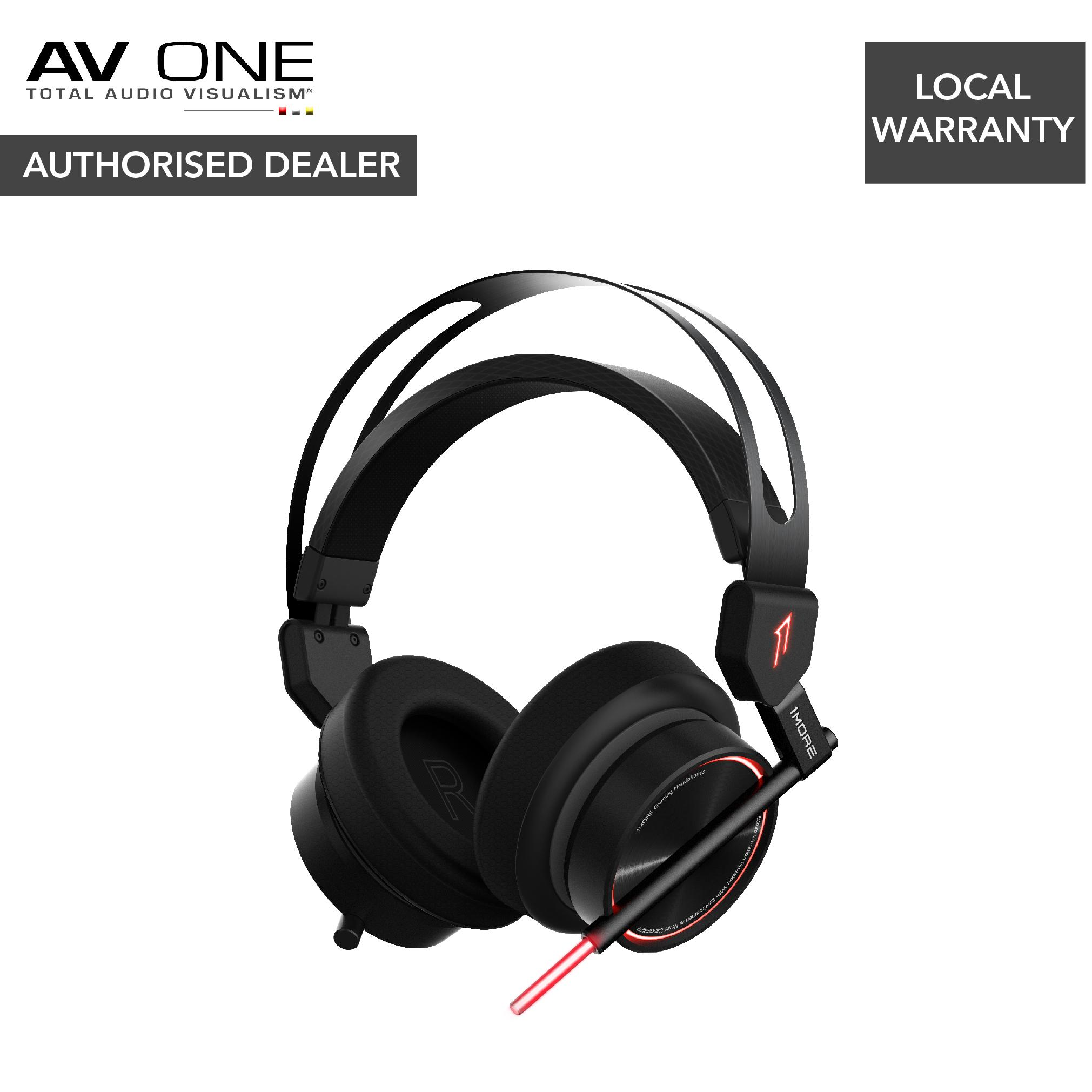 1MORE H1005 SPEARHEAD VR GAMING HEADPHONES Authorized Dealer/Official Product/Warranty