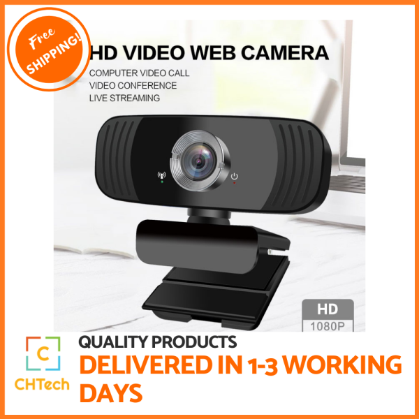 HD 1080P Video Camera | Webcam |Video Conference With Mic Interface| Video Calling , webcam