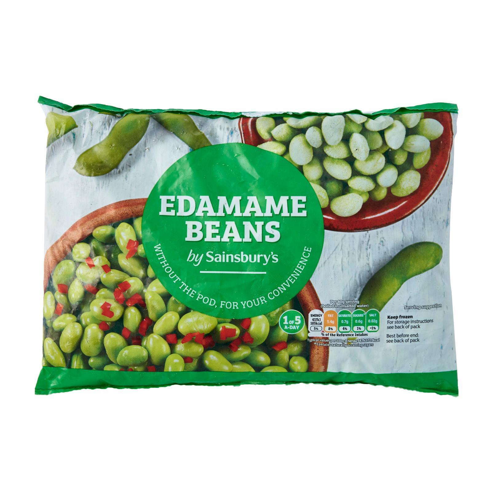 Sainsbury's Edamame Beans - Frozen
