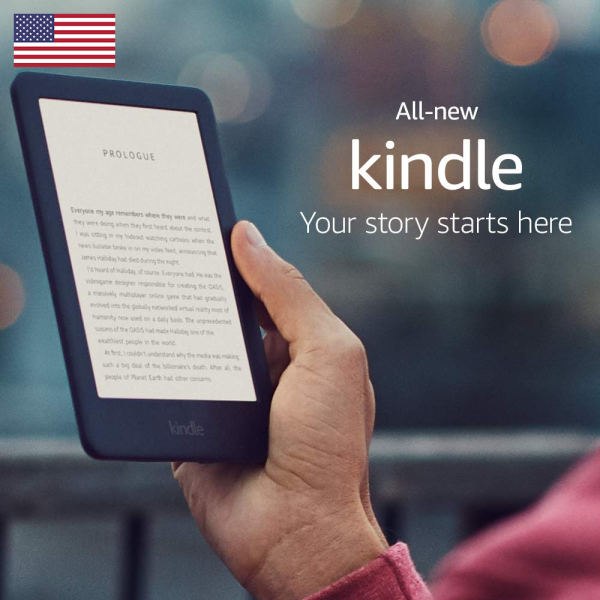 All-new Kindle - Now with a Built-in Front Light - Black