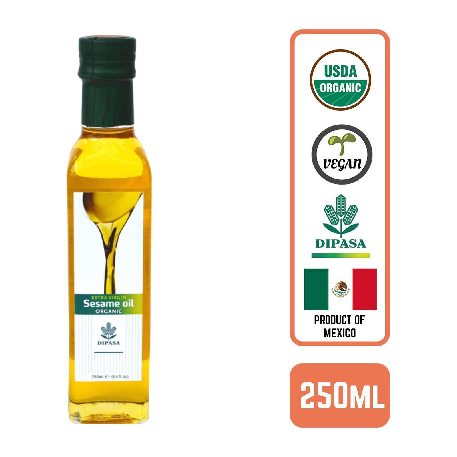 Dipasa Organic Virgin Sesame Oil By Redmart.