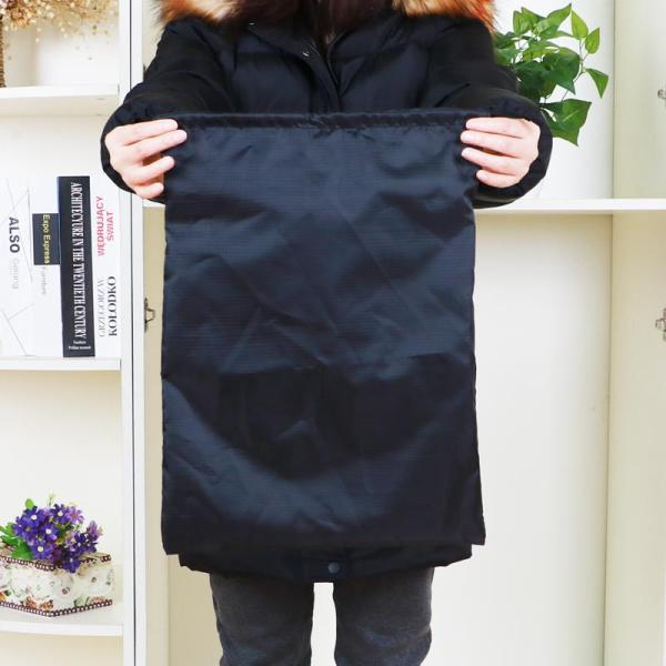 Extra Large a Cotton Blanket of Big Storage Bag Plush Doll Goods Organizing Folders Dustproof Drawstring Top Drawstring Cloth Bag