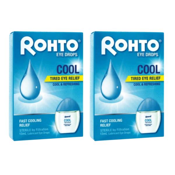 Buy (BUNDLE) 2x Rohto Eye Drops Cool 13ml Singapore