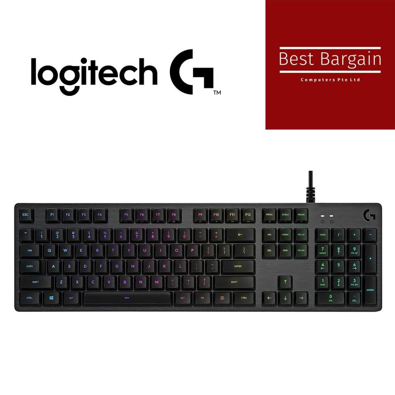 Logitech G512 CARBON RGB MECHANICAL GAMING KEYBOARD- Tactile Singapore