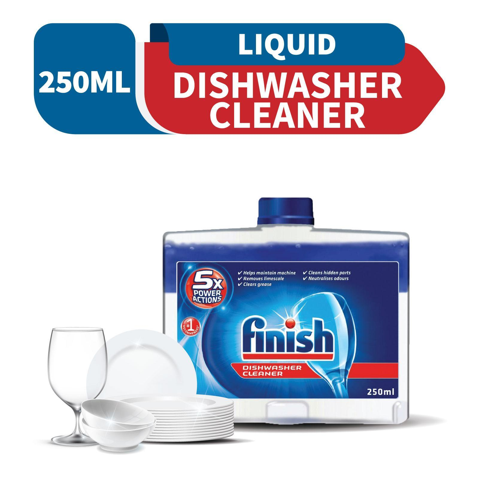 Finish Automatic Dishwasher Machine Cleaner